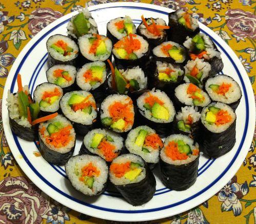Karl's Vegetarian Futomaki