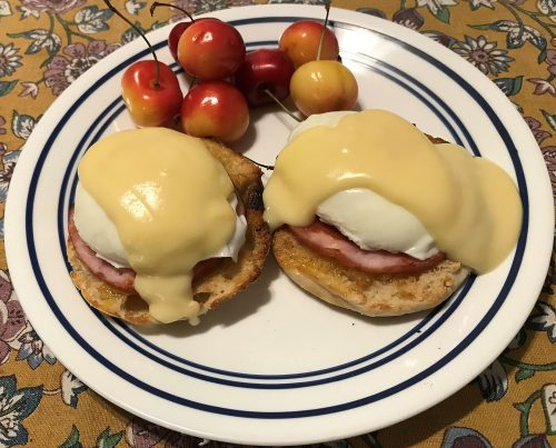 Diner Eggs Benedict
