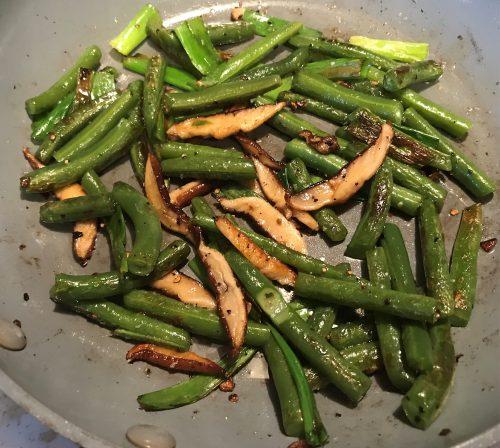 Karl's Shiitake Green Beans