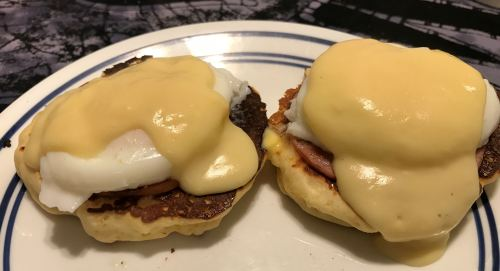 Karl's Country Eggs Benedict