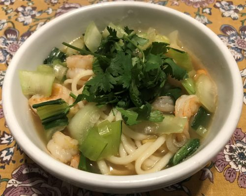 Papa's Fine Shrimp Soup