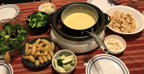 Karl's Cheese Fondue