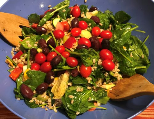 Karl's Farro Salad