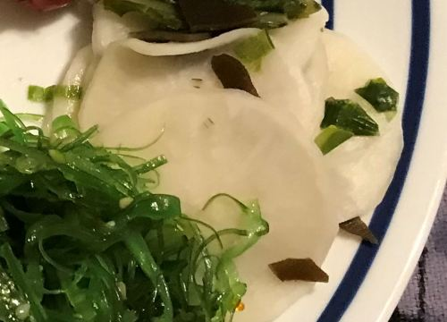 Karl's Japanese Pickled Turnips