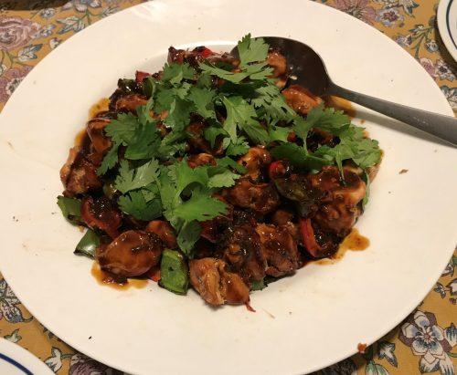 Karl's Barbecued Big Plate Chicken (Da Pan Ji)