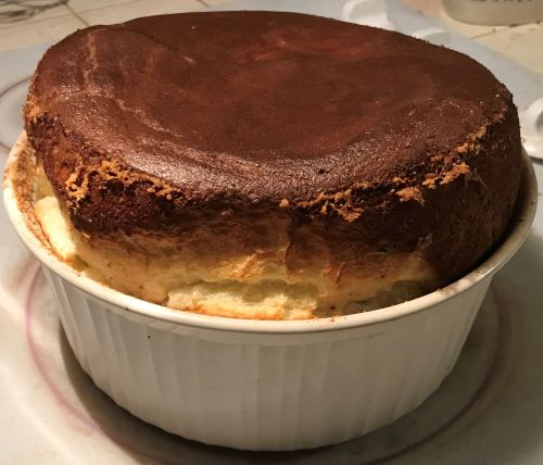 Karl's Cheese Soufflé