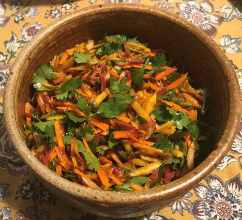 Karl's Uyghur Carrot Salad III