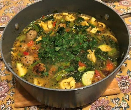 Karl's Italian Wedding Soup without Garlic and Onions