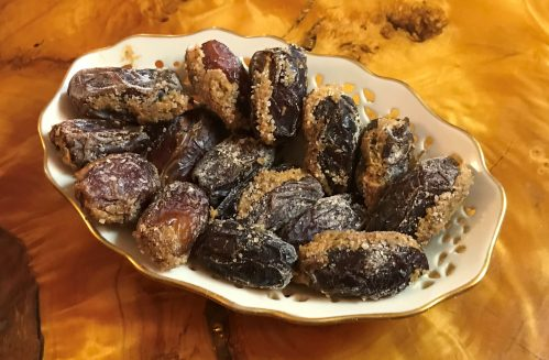 Jan's Peanut Butter and Spice Stuffed Dates