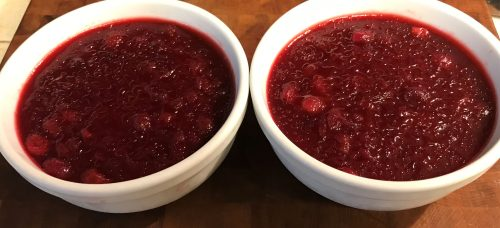 Karl's Elderflower Cranberry Sauce