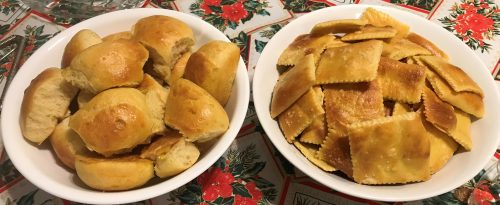 Karl's Saffron Challah Dinner Rolls/Crackers II