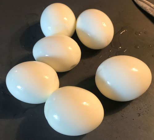 Boiled Egg Peeling Hack