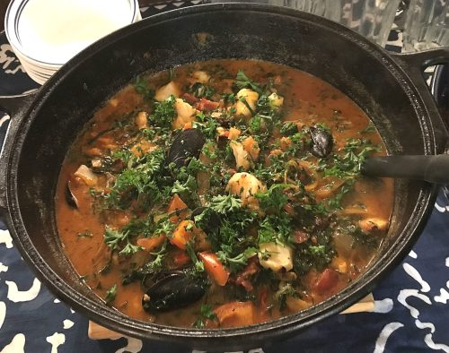Karl's Caldeirada Portuguese Fish Stew