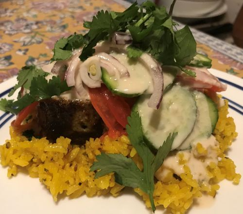 Karl's Weekday Kūbide Meatloaf with Sesame Sauce