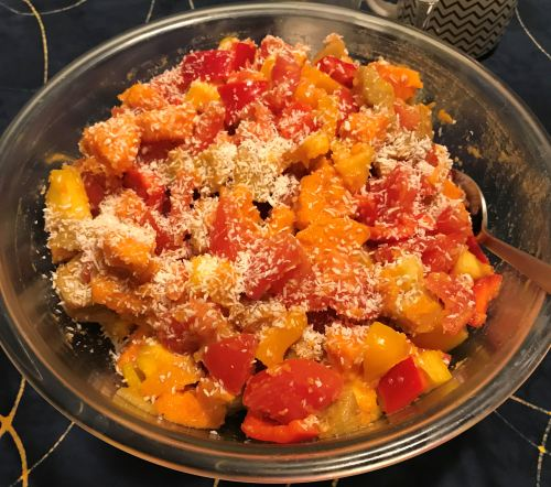 Karl's Caribbean Sweet Potato Salad