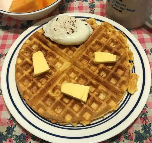Karl's Egg Waffles