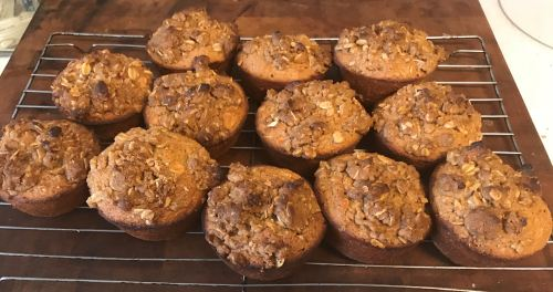 Karl's Apple Oat Muffins