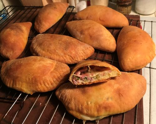 Karl's Ham and Cheese Hand Pies