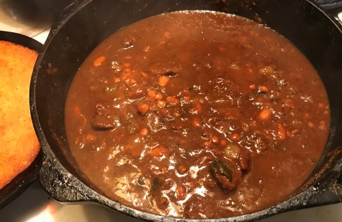 Karl's Chili con Carne with Beans