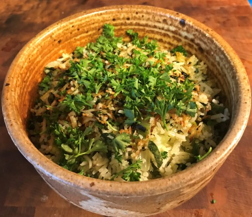 Karl's Rice Florentine