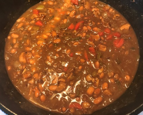 Karl's Chicken Chili with Beans