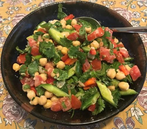 Karl's Mediterranean Chickpea Salad