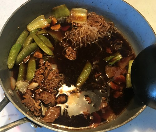 Karl's Weekday Sukiyaki with a Noom Twist