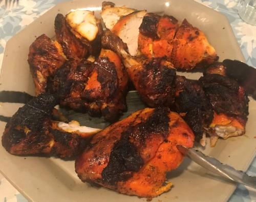 Karl's Nevis Barbecued Jerked Chicken