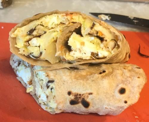Karl's Ugandan Rolex—Roti Eggs