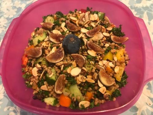 Karl's Vegan Israeli Couscous Almandine