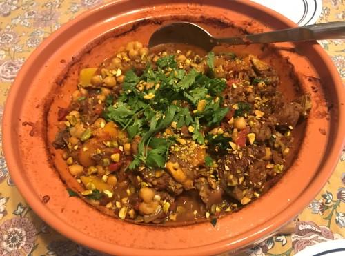 Karl's Moroccan Goat Tagine