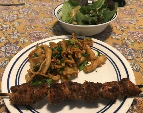 Karl's Uyghur Chicken Shashlik